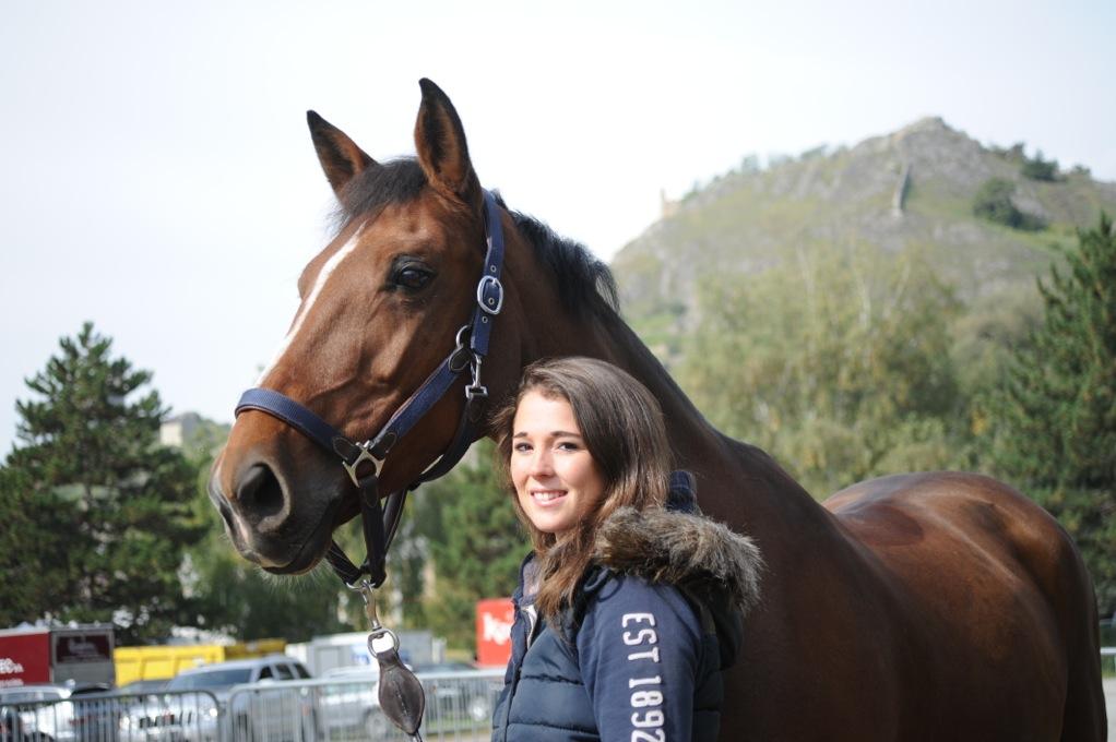 Hippisme équitation cheval Aurelia Loser DR